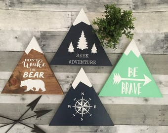 woodland nursery, woodland decor, rustic nursery, woodland theme nursery, rustic home decor