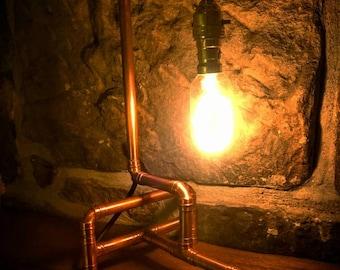 Retro Industrial edison Style Table Lamp- steampunk decor