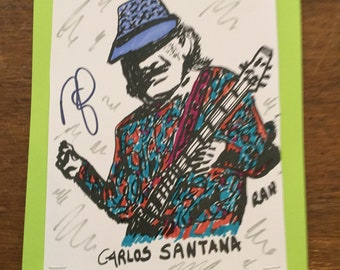Carlos Santana what a gifted guitarist he is.