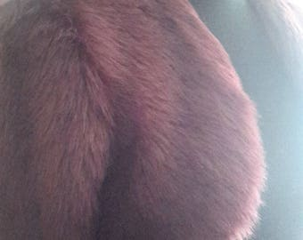 Luxurious Faux Fur Bolero (short jacket)