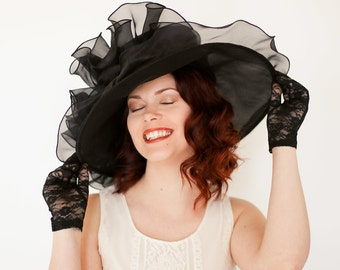 Easter Hat, Kentucky Derby Hat, Church hat, Tea Party Hat, Church Hat, Derby Hat, Wedding Hat, Funeral Hat