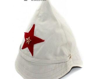 Soviet / Russian Army Beige BUDENOVKA summer HAT