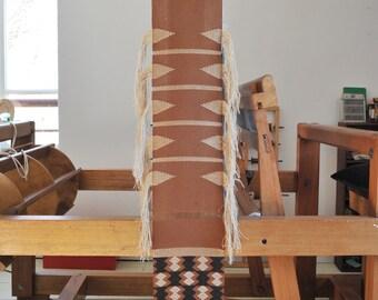 Handwoven wall hanging/ Cotton & Linen/ Weaving/ Loom work