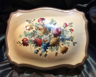 Hand Painted Treasure Box from I Magnin, made in Italy