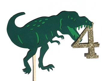 Dinosaur cake topper.   Dinosaur themed party.   Dinosaur party decorations.  Boy dinosaur birthday.   Boy birthday cake topper dinosaur