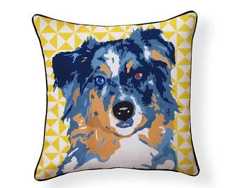 Pooch Décor: Australian Shepherd Pillow