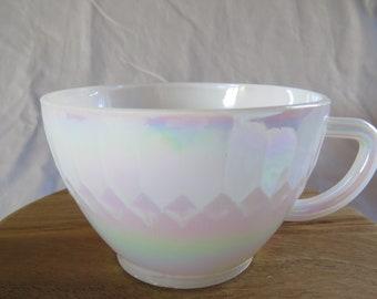 Vintage Federal Moon Glow Teacup