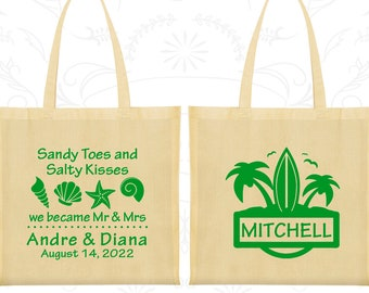 Cotton Tote Bag, Tote Bags, Wedding Tote Bags, Personalized Tote Bags, Custom Tote Bags, Wedding Bags, Wedding Favor Bags (519)