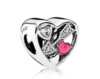 Sterling Silver New Struck By Love Charm