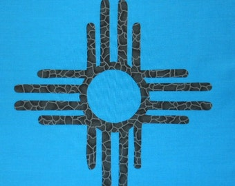 Southwestern Quilt Applique Pattern Design