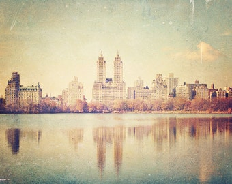Central Park - 8x10 photograph - Vintage New York Art - fine art print - vintage photography - Living Room Decor - Dorm Art