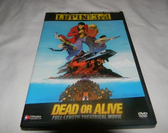 dvd lupin the 3rd dead or alive