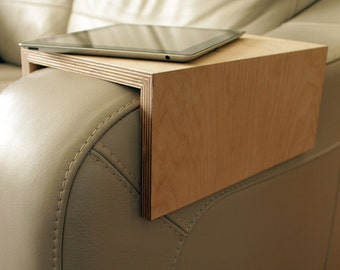Couch arm table, Sofa table, sofa shelf, couch shelf, couch table, sofa, couch, sofa tray, Birthday Gift, For Him, for Her, gift for home