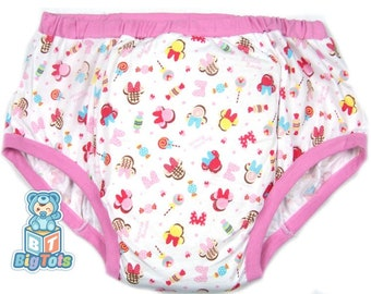 Adult Baby sizes Minnie Mouse training pants incontinence ABDL