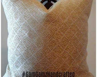 Fall Pillows.Slipcovers.Toss Pillows.Cream.Beige.Silver Sheen.Textured Pillow Covers