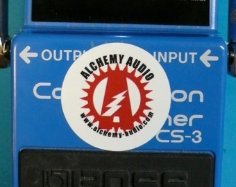 Modify your Boss CS-3 Compressor Sustainer with upgrades! Alchemy Audio Modification Service.