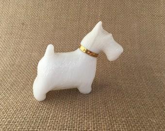 Avon West Highland White Terrier (Westie) empty perfume bottle