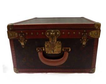 Louis Vuitton LV Monogram Bisten briefcase travel bag trunk