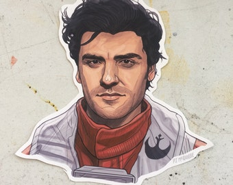 Poe Dameron STAR WARS Sticker