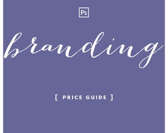 Branding Price Guide PSD Template