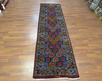 Unique Antique Turkoman Runner-3761
