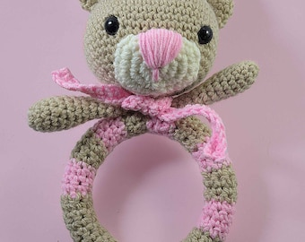 Amigurumi Bear Rattle Crochet