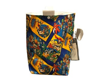 Justice League Project Bag Bucket Bag extra tall