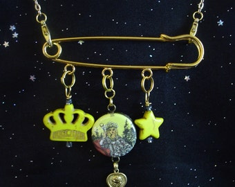 The Empress Tarot Card Necklace/Brooch