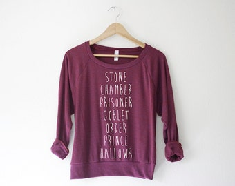Books Women's Pullover - by So Effing Cute USA - inspired by HP