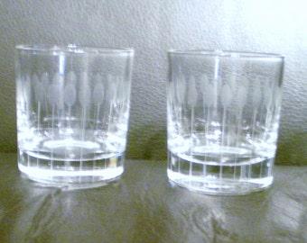 4 Retro Bar glasses