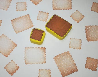 Biscuit rubber stamp, Cookie stamp, Biscuit stamp, food stamp, cardmaking stamp, biscuits, cookies, cardmaking, cookie background, pattern
