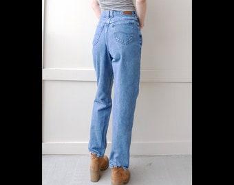 "Waist 28"" Lee High Waisted Jeans | Vintage Lee Jeans for Women Size 28 | Vintage Mom Jeans Size 28 | 90s Jeans Size 28"