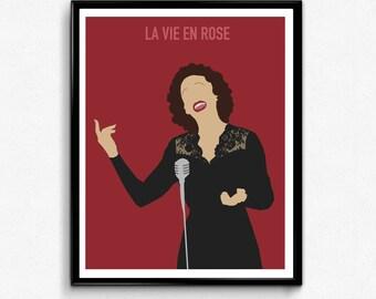 La vie en rose Movie Poster- Edith Piaf