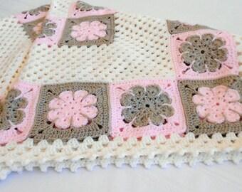 Crochet Pattern - Easton Baby Afghan Pattern - Blanket Babyghan - Throw Blanket or Lapghan Pattern - PDF Format