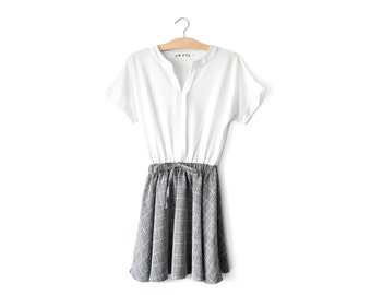 60s minimalist minidress | XS