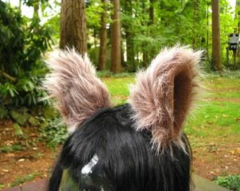 Pinces à cheveux Cosplay oreille fourrure - Costume Animal oreille fausse fourrure par Ningen couvre-chefs