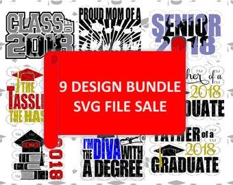 2018 GRADUATE Bundle SVG Files