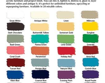 Milk Paint- Pint or Quart- General Finishes *28 Colors Available* Comapre to Chalk Paint