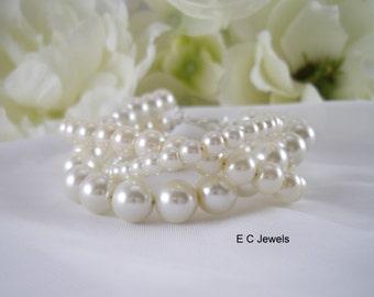 Trio of Pearls Bracelet