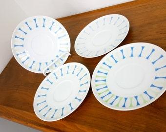 Set of 4 Paul McCobb Contempri Saucer Plates
