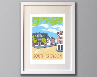 South Croydon - A3 Giclee print - Limited Edition - (UN)FRAMED