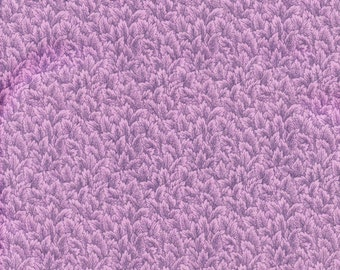 Packed Foliage Quilt Fabric - Lavender Packed Leaves - 100% Cotton - OOP - BTHY