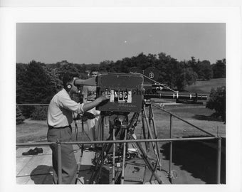 Golf - TV camera 1954 US Open - GO-016