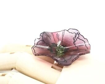Violet Red Ring