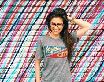Kansas City Hybrid Pennant Shirt - Local Pride KC Shirt