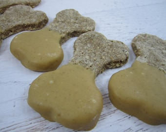 Elvis Banana Bones Gourmet Dog Treats ~ Homemade Bakery Dog Biscuits ~ Dog Bone Shaped Dog Cookies ~ Healthy Dog Treats ~ Dog Snacks ~ USA