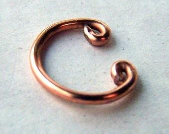 Copper Ear Cuffs Ear Wrap Simple Jewelry Mens Unisex Earcuff