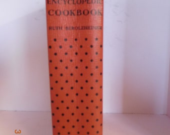 Vintage Culinary Arts Cookbook