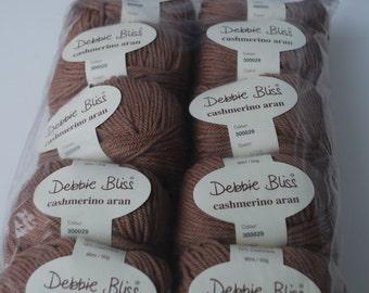 10 skeins Debbie Bliss  cashmere aran
