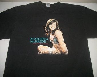 Martina McBride tour t shirt 1992 Waking up Laughing